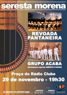 Revoada Pantaneira e grupo Acaba são as atrações de hoje na Seresta Morena