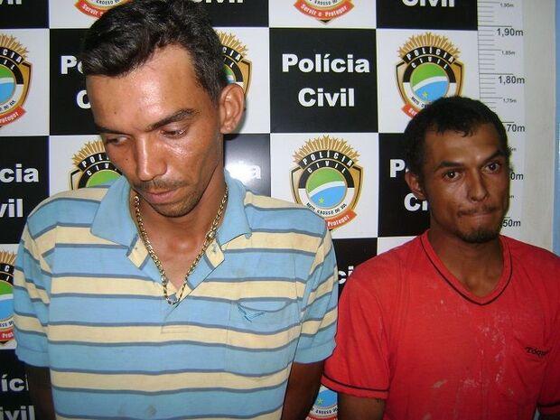 Irmãos são presos acusados de tentativa de homicídio em Maracaju