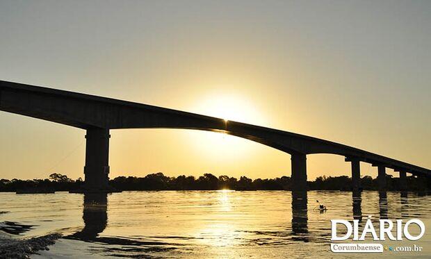 Pedágio na ponte sobre rio Paraguai sobe a partir de 1º de janeiro