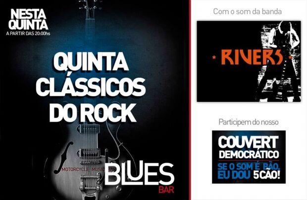 Banda Rivers se apresenta no Blues Bar em Campo Grande