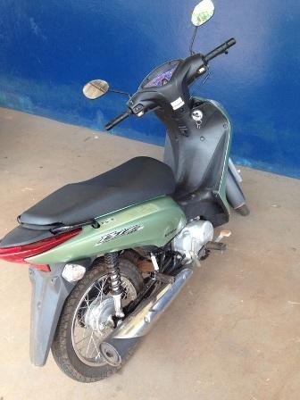 Policia recupera moto no bairro Mata do Jacinto