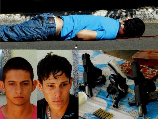 Polícia Militar prende acusados de assassinar motorista de Hilux