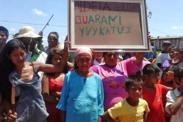 Indígenas que ocupam fazendas em Japorã afirmam que resistirão a ofensiva de produtores