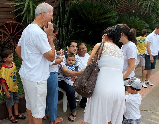 Ação reúne familiares de vítimas fatais do trânsito na Capital