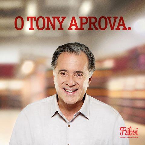 Após aumento de 20% nas vendas, Friboi renova com Tony Ramos