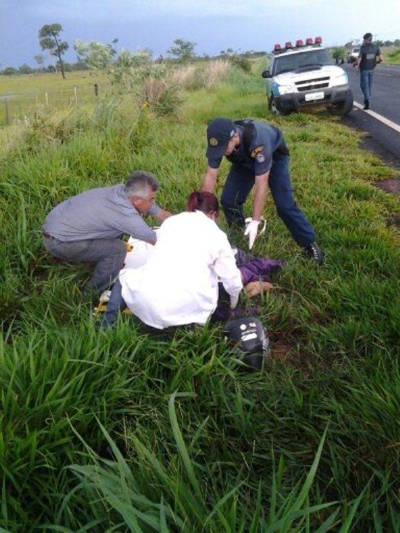 Acidente na MS-176 deixa vítima fatal