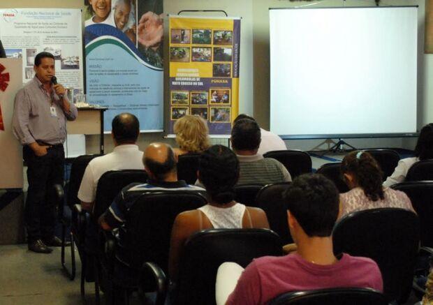 FUNASA apresenta resultados de trabalhos do Setor de Educação em Saúde Ambiental realizados em 2013