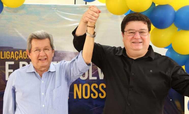 Onevan de Matos e Márcio Araguaia