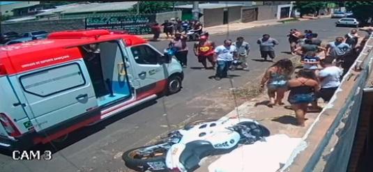 Vídeo: morte de jovem em batida de moto gera forte comoção entre amigos no  Estrela do Sul - Portal TOP Mídia News