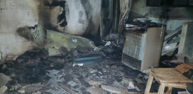 Resultado de imagem para Casal é preso acusado de matar homem e atear fogo em casa em Ribas do Rio Pardo