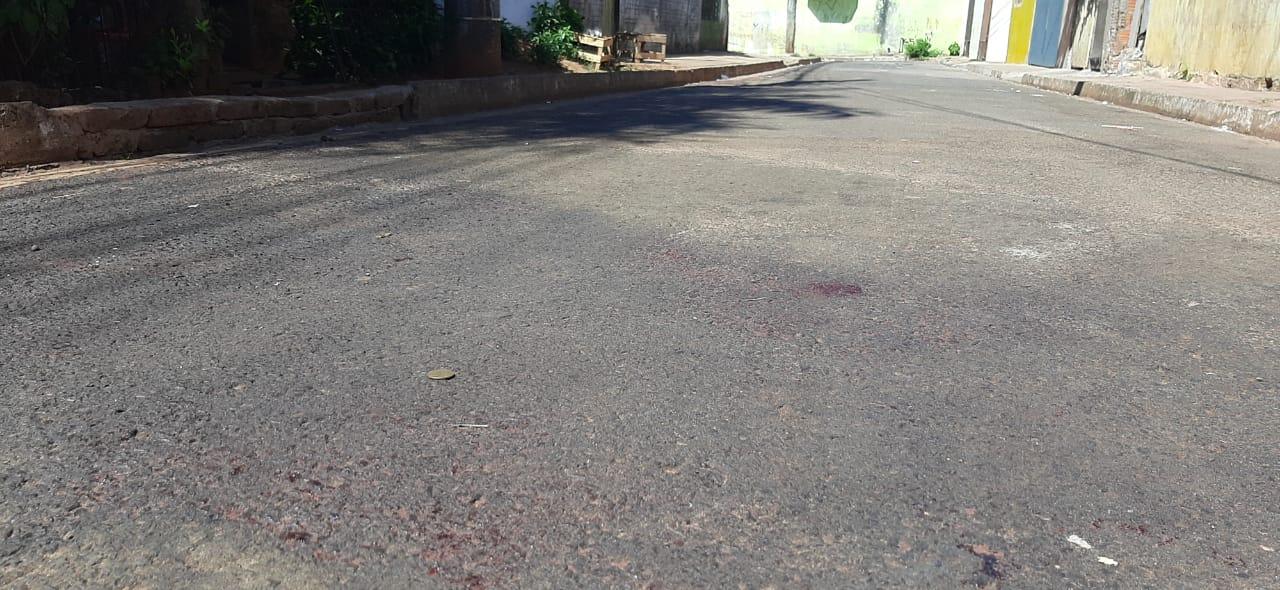 Rua Jandiatuba. Local onde crime aconteceu.