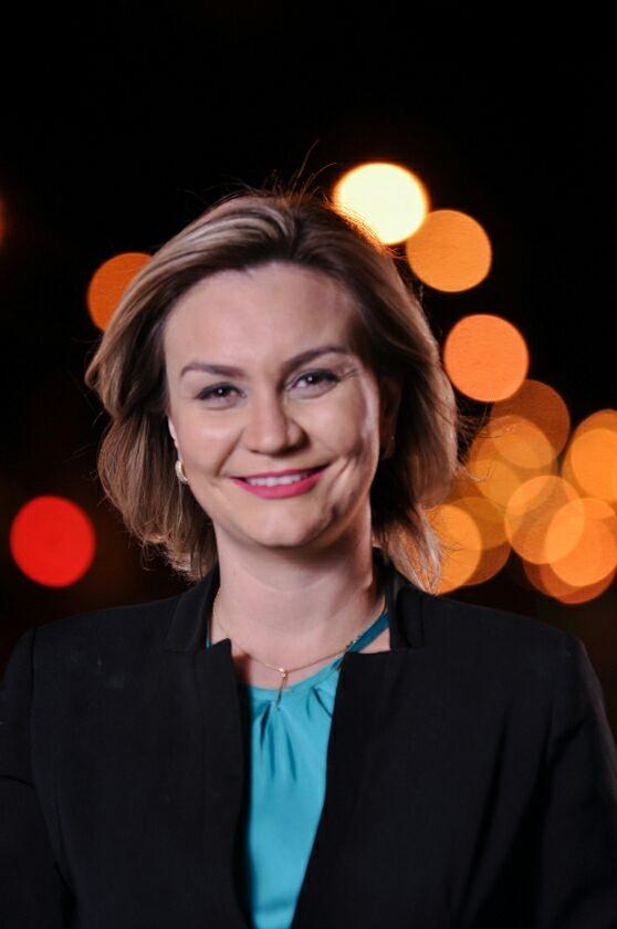 Ellen Genaro é jornalista da TV Record de Campo Grande