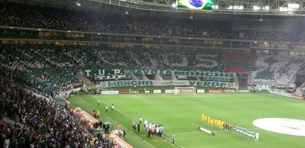 Allianz Parque deve receber  casa cheia  em Palmeiras x Santos ... 1f51f47723e2a