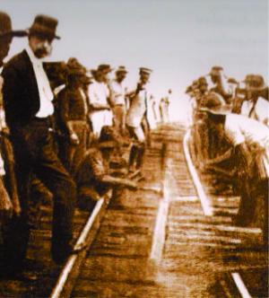 Foto do dia da Ligação em 1949. ARCA